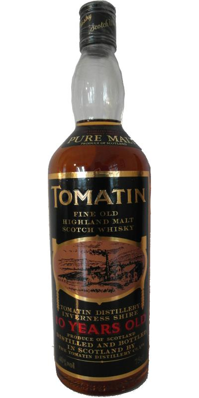 Tomatin 10-year-old