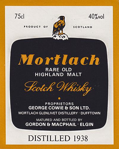 Mortlach 1938 GM
