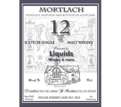 Mortlach 1993 Mde