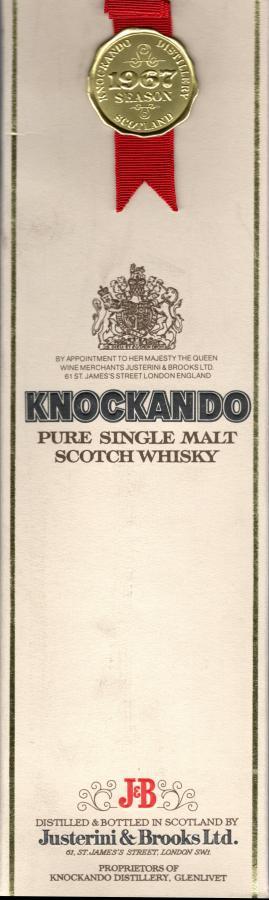 Knockando 1967