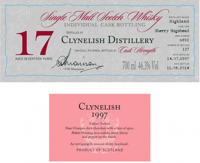 Clynelish 1997 DR