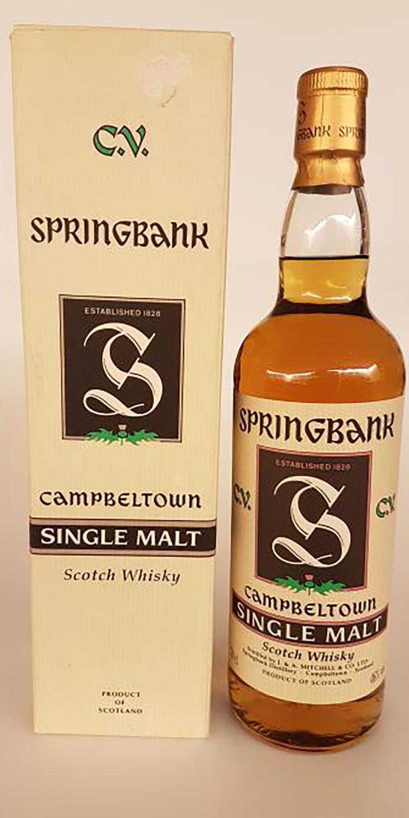 Springbank C.V.