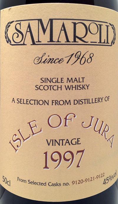 Isle of Jura 1997 Sa