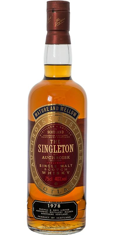 The Singleton of Auchroisk 1978