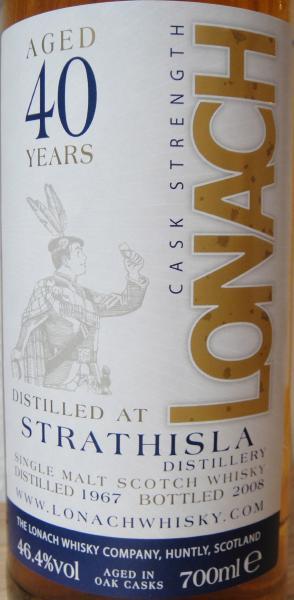 Strathisla 1967 DT