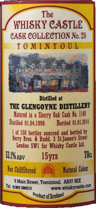 Glengoyne 1998 BR