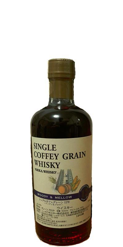 Nikka 12-year-old Single Coffey Grain