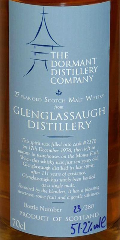 Glenglassaugh 1976 RM
