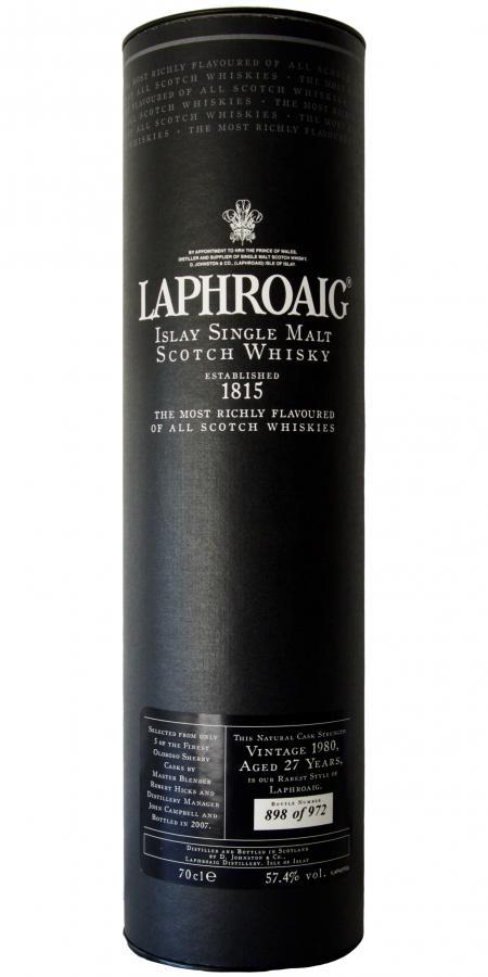 Laphroaig 1980