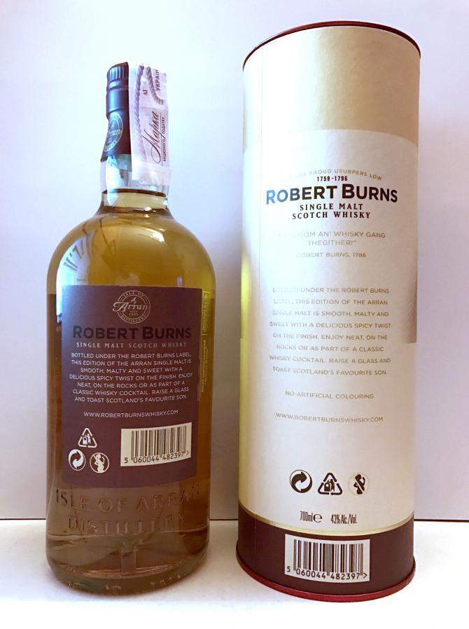 Robert Burns Single Malt Scotch Whisky
