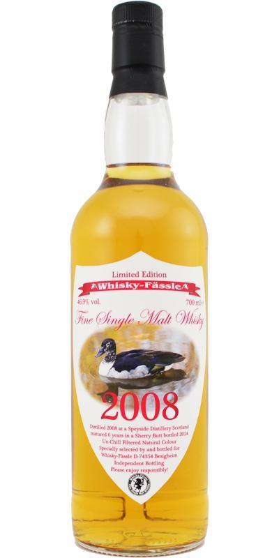 A Speyside Distillery 2008 W-F