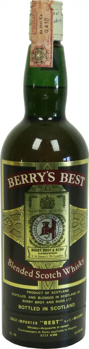 Berry's Best 08-year-old BR