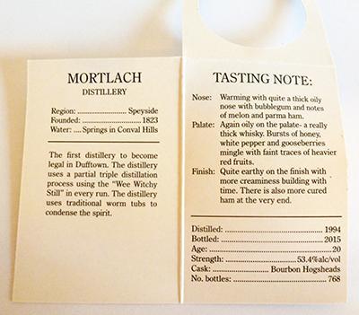 Mortlach 1994 CA