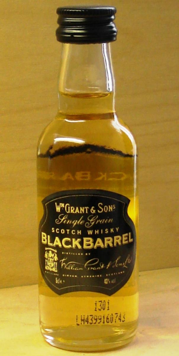 Girvan Black Barrel