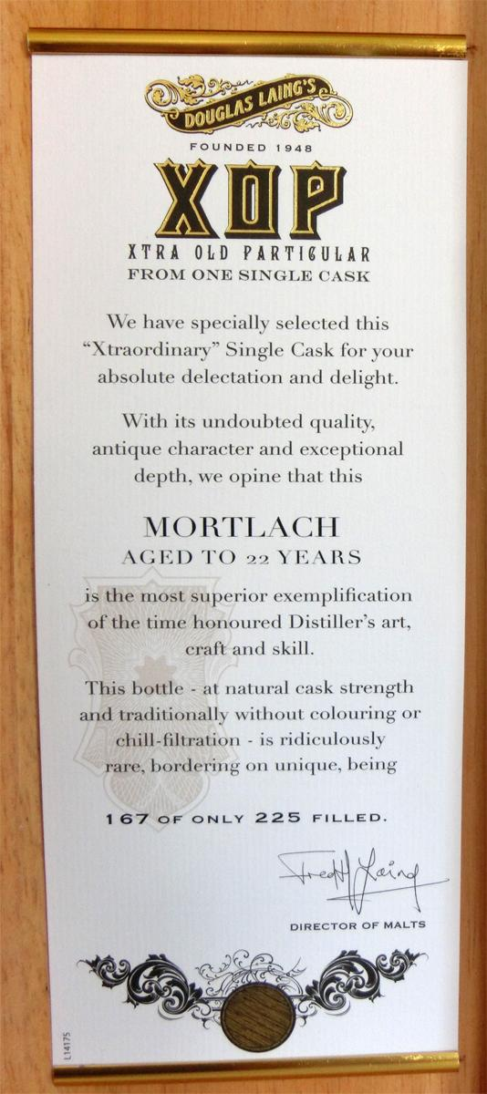 Mortlach 1992 DL
