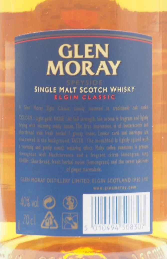 Glen Moray Elgin Classic