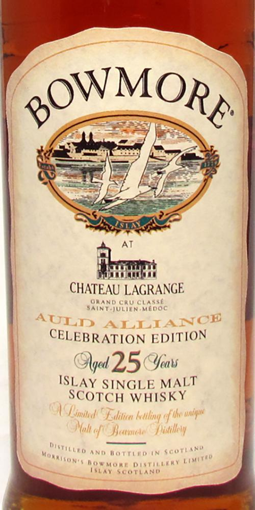 Bowmore 25-year-old Château Lagrange