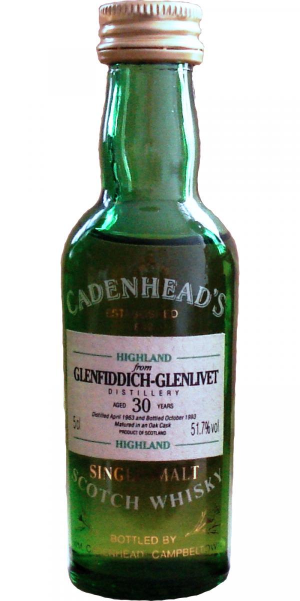 Glenfiddich 1963 CA
