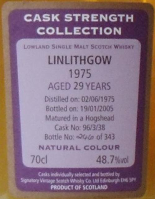 Linlithgow 1975 SV