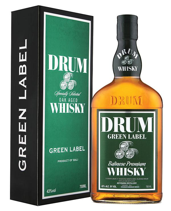 Drum Green Label