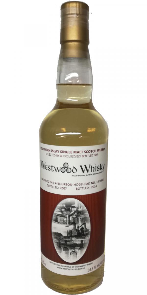 Southern Islay Single Malt Scotch Whisky 2007 WwW