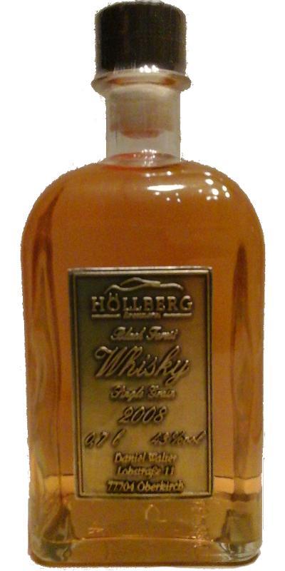 Höllberg 2008 Black Forest Whisky