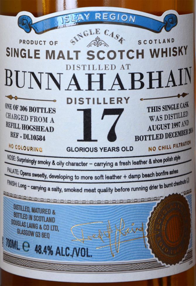 Bunnahabhain 1997 DL