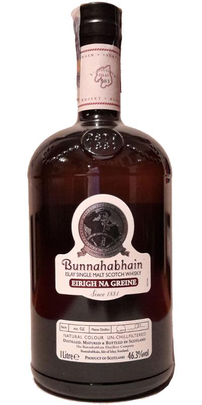 Bunnahabhain Eirigh Na Greine