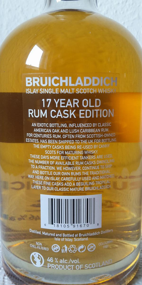 Bruichladdich 17-year-old