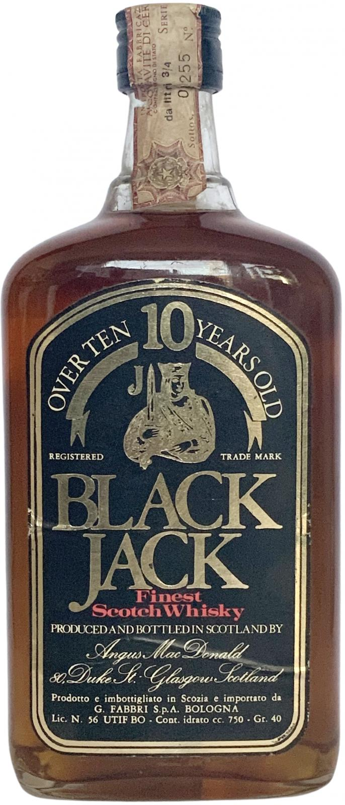 Black Jack 10-year-old
