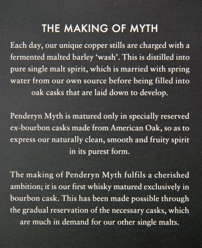 Penderyn Myth