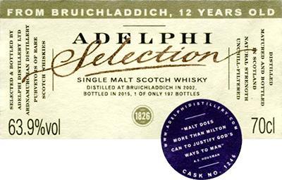 Bruichladdich 2002 AD