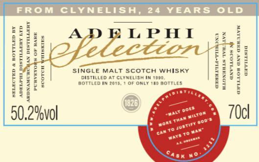 Clynelish 1990 AD