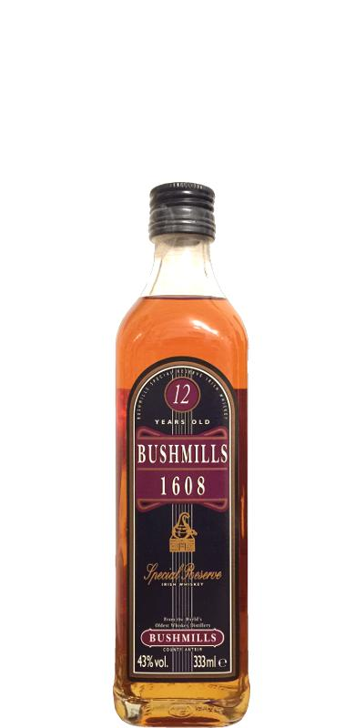 Bushmills 1608 - 12-year-old