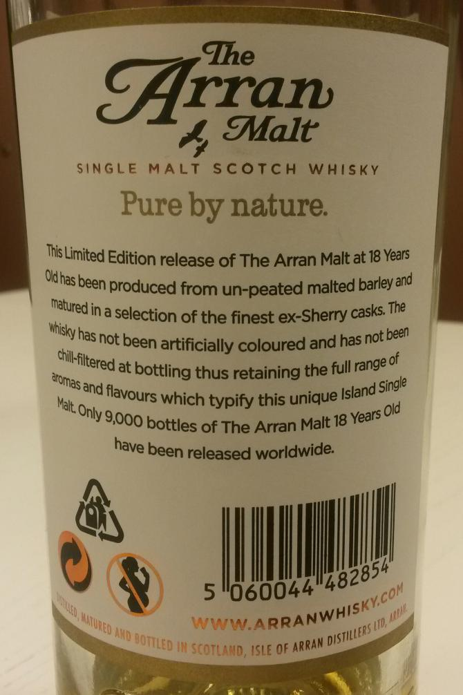 Arran 18-year-old