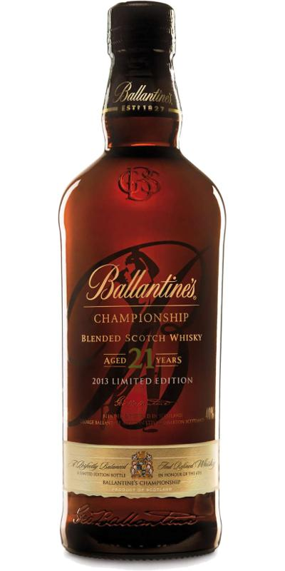 Ballantine's 21-year-old Championship