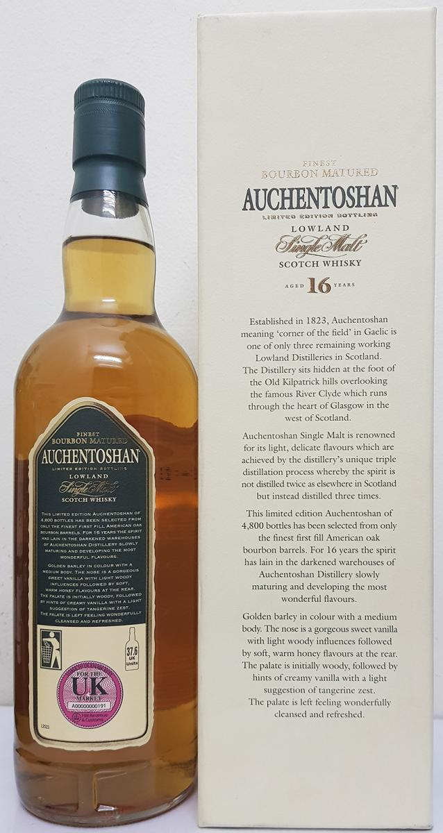 Auchentoshan 16-year-old
