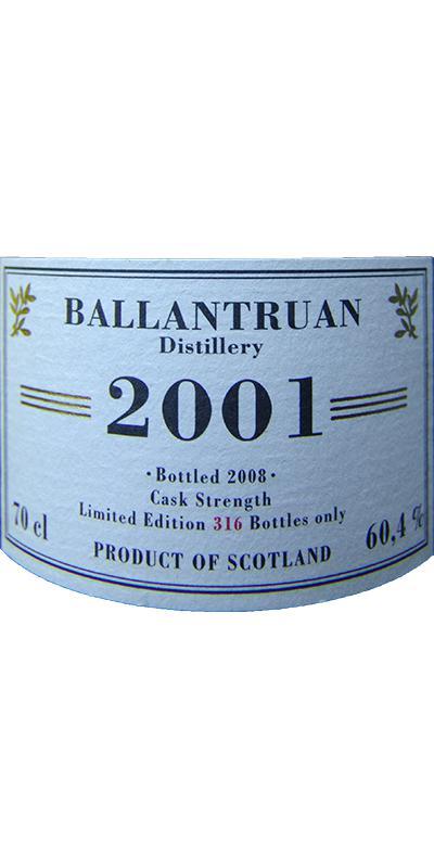 Old Ballantruan 2001 JW