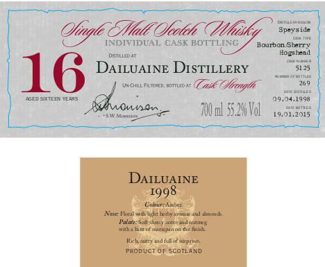 Dailuaine 1998 DR