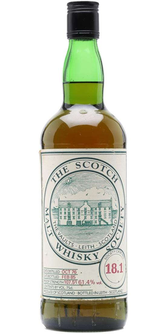Inchgower 1976 SMWS 18.1