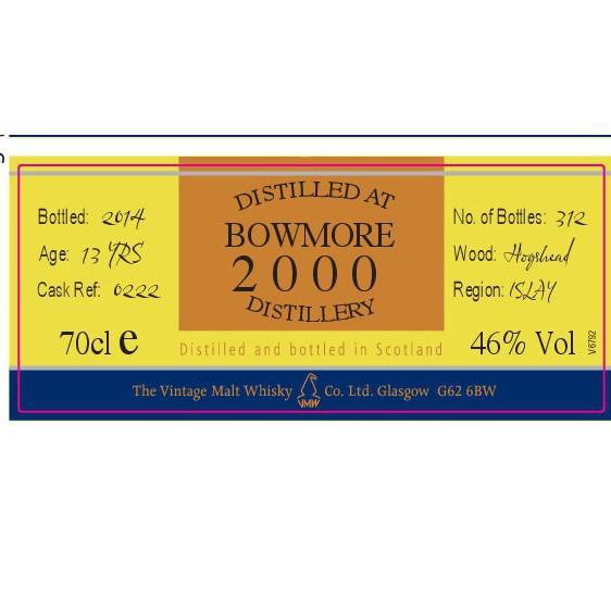 Bowmore 2000 VM
