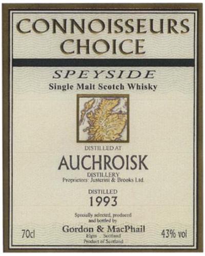 Auchroisk 1993 GM
