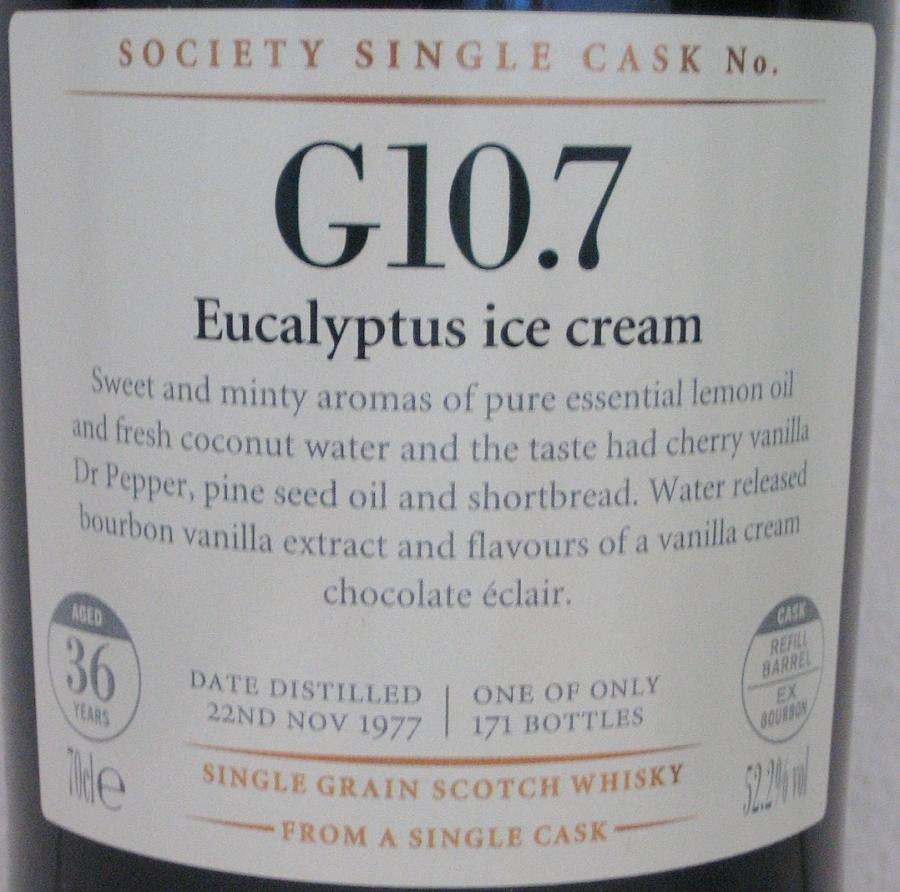 Strathclyde 1977 SMWS G10.7