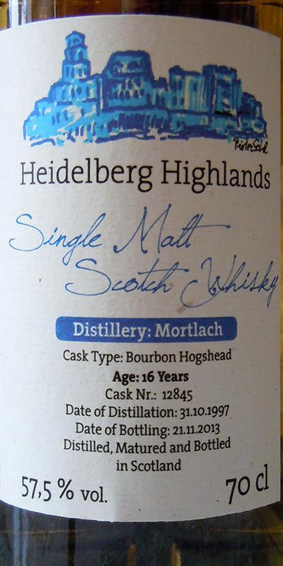 Mortlach 1997 HeHi