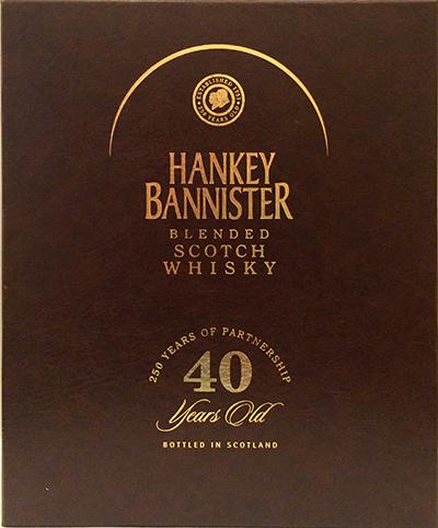 Hankey Bannister 40-year-old