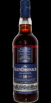 Glendronach 18-year-old Allardice