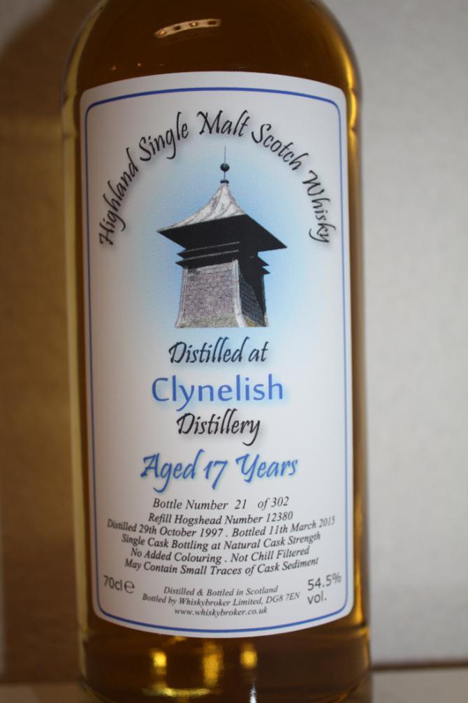 Clynelish 1997 WhB