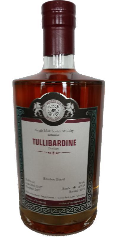 Tullibardine 2007 MoS