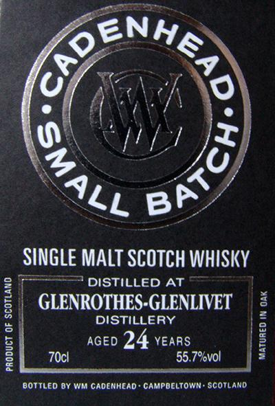 Glenrothes 1990 CA