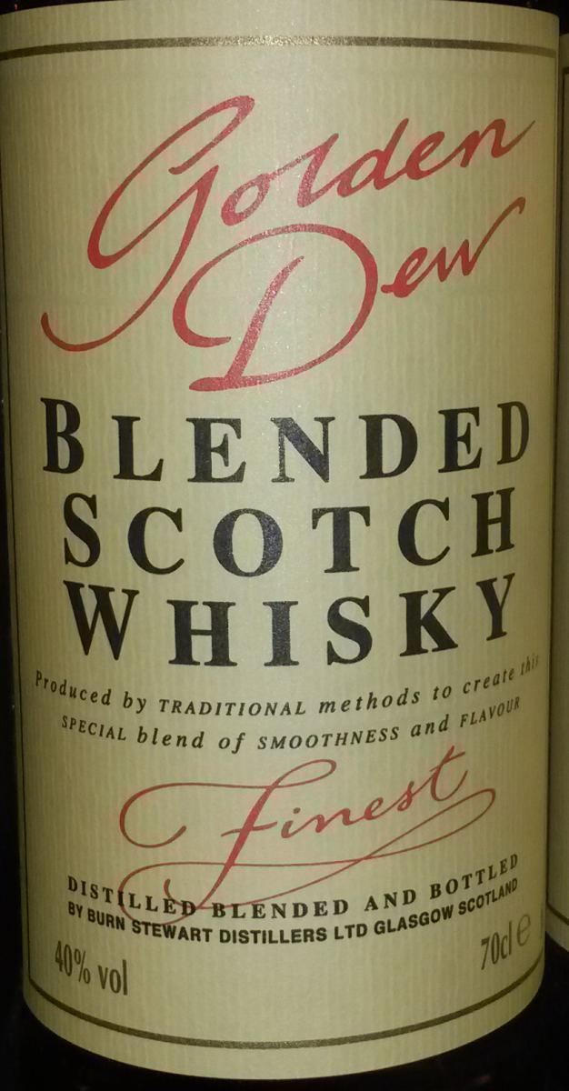 Golden Dew Blended Scotch Whisky